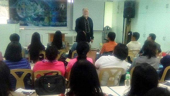 Tony in Makati Class