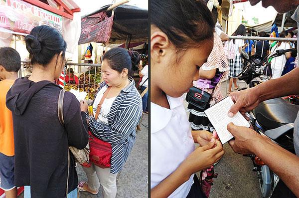 Witnessing at Mongkayo